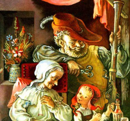 Червона шапочка — казка братів Грімм