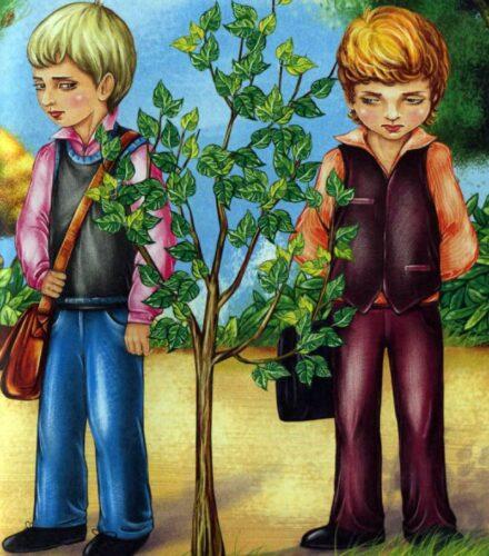 Яблунька і літо - оповідання Василя Сухомлинського
