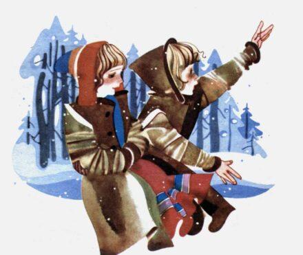Зимова казка - Захаріас Топеліус